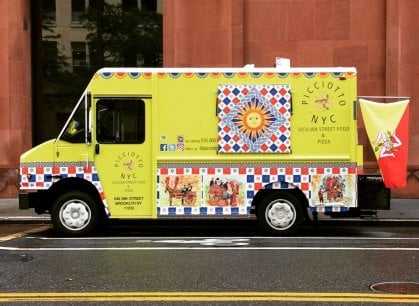 Dalla pasta alla pizza, i food truck italiani invadono New York