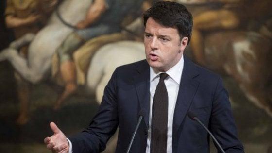 Renzi chiede i danni: