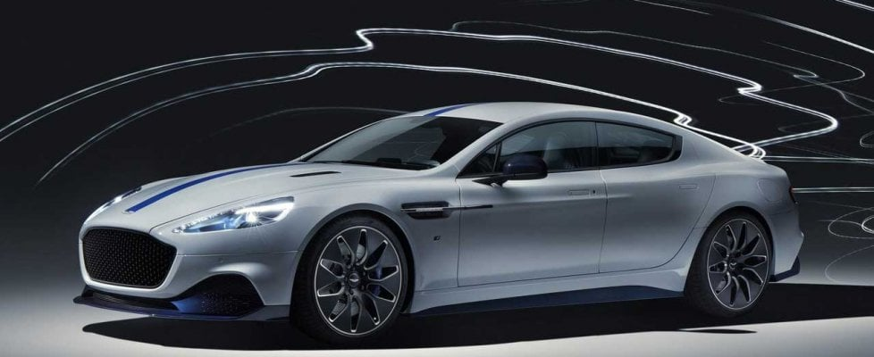 Rapide E, anche questa è un'Aston Martin