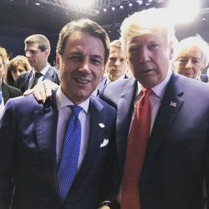 """Telefonata Conte-Trump: """"Per la crisi libica serve una soluzione diplomatica"""""""