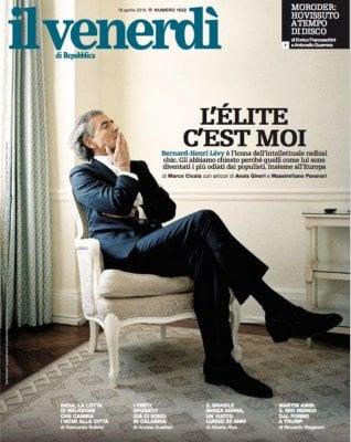 "Bernard-Henri Lévy: ""L'Europa, i gilet gialli e noi, l'odiata élite"""