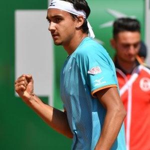 Tennis, Montecarlo, è grande Italia: Sonego e Fognini volano ai quarti. Eliminato Cecchinato