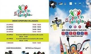 Sport in famiglia, al Laghetto dell'Eur di Roma il via all'ottava edizione