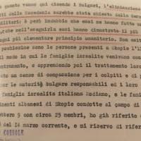 In mostra a Roma i documenti inediti dei diplomatici italiani che salvarono gli ebrei...