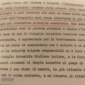 In mostra a Roma i documenti inediti dei diplomatici italiani che salvarono gli ebrei dalla Shoah