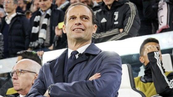 Juventus, Allegri: ''Grande stagione anche senza Champions''