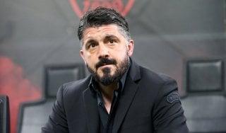 Milan, Gattuso: ''Basta polemiche, con la Lazio in campo abbracciati''