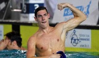 Nuoto, doping: positivo alla cannabis l'azzurro Andrea Vergani