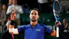 Tennis, spettacolo Fognini a Montecarlo: ora semifinale con Nadal. Eliminato Sonego