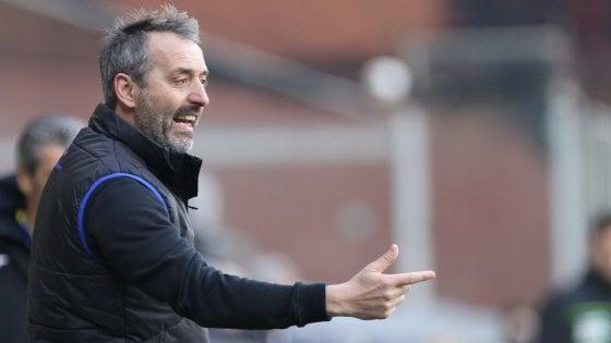 """Sampdoria, Giampaolo: """"Andiamo oltre il derby, iniziamo a pensare in grande"""""""