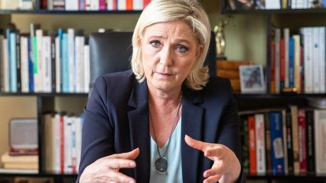 """Marine Le Pen:  """"Io e Salvini, il nuovo blocco di potere che cambierà l'Europa"""""""
