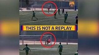 Due gol identici in un minuto e non si tratta di un replay