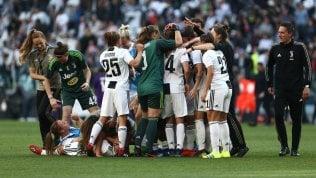 La Juventus donne anticipa gli uomini: è campione d'Italia. Secondo scudetto di fila