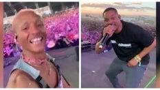 Guest star a sorpresa: arriva Will Smith e canta con il figlio Jaden
