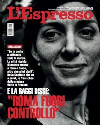 """E Raggi disse: """"Roma è fuori controllo"""": Damilano presenta il nuovo L'Espresso"""