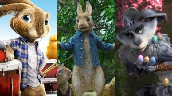 Conigli di pasqua al cinema e in tv da rabbit school a le 5
