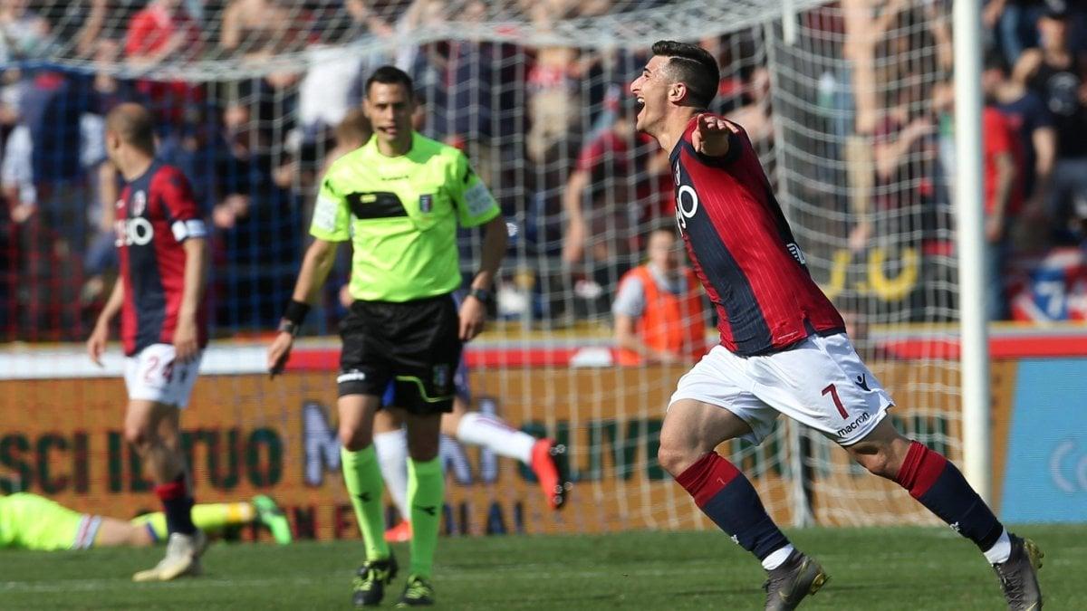 Bologna-Sampdoria 3-0: Audero non ne azzecca una, rossobù vicini ...
