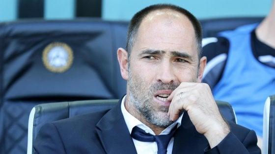 """Udinese, Tudor: """"Teniamoci stretto questo punto"""""""