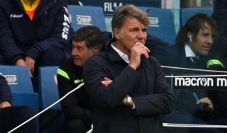 """Frosinone, Baroni: """"Non penso a classifica, lotteremo fino alla fine"""""""