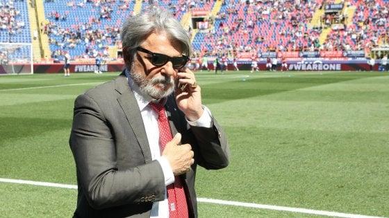 Sampdoria, lite con Ferrero: si dimette Sabatini