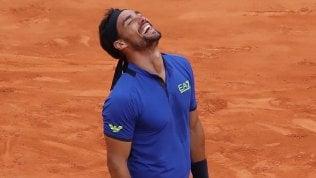 Tennis, Masters Montecarlo: Fognini batte Nadal e vola in finale