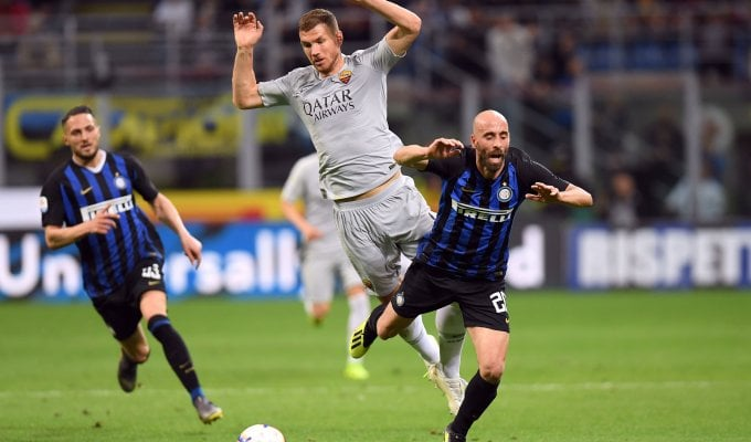 Inter-Roma 1-1, Perisic risponde a El Shaarawy. Un pari che fa sorridere entrambe