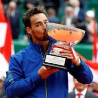 Tennis, Fognini trionfa a Montecarlo