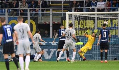 Perisic replica a El Shaarawy Inter-Roma finisce 1-1