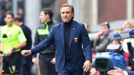 Genoa, Preziosi non cambia: avanti con Prandelli