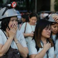 Forte terremoto nelle Filippine, panico a Manila