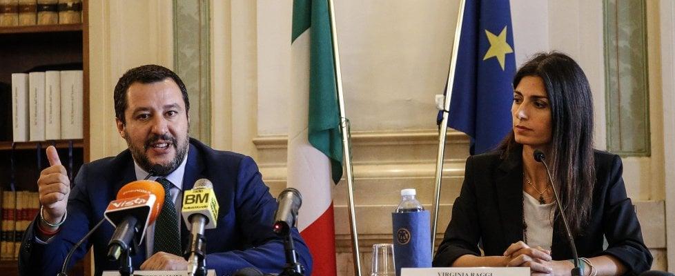 """Scontro sul 'Salva Roma': Salvini annuncia lo stralcio, l'ira di Conte: """"Non siamo i tuoi passacarte"""""""