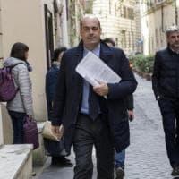 """Zingaretti attacca Salvini: """"Vuole impunità per i potenti"""". Orlando: """"Crisi già in atto,..."""
