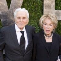 Kirk Douglas e Anne Buydens, la
