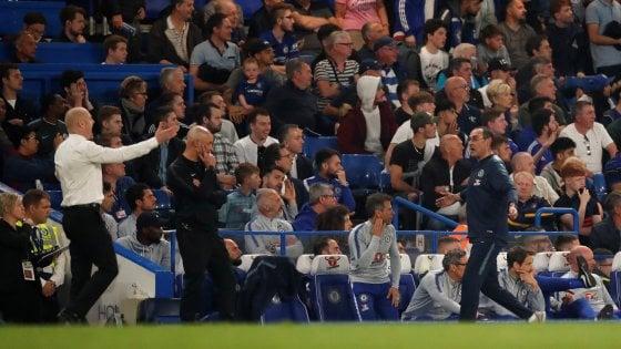 """Inghilterra, Chelsea accusa: dalla panchina del Burnley 'Italiano di m.... a Sarri"""""""