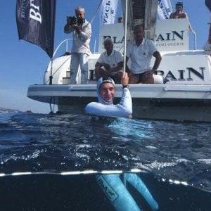 """""""Salva-acque"""", a Sorrento con Gianluca Genoni per diffondere la cultura del mare"""