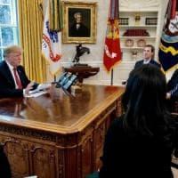 Trump ha incontrato il co-fondatore di Twitter, Jack Dorsey, alla Casa Bianca