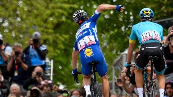 Ciclismo, Freccia Vallone: bis di Alaphilippe. Bravo Ulissi: è terzo
