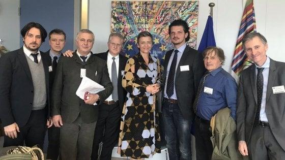 Decreto banche, le associazioni del No incontrano Margrethe Vestager