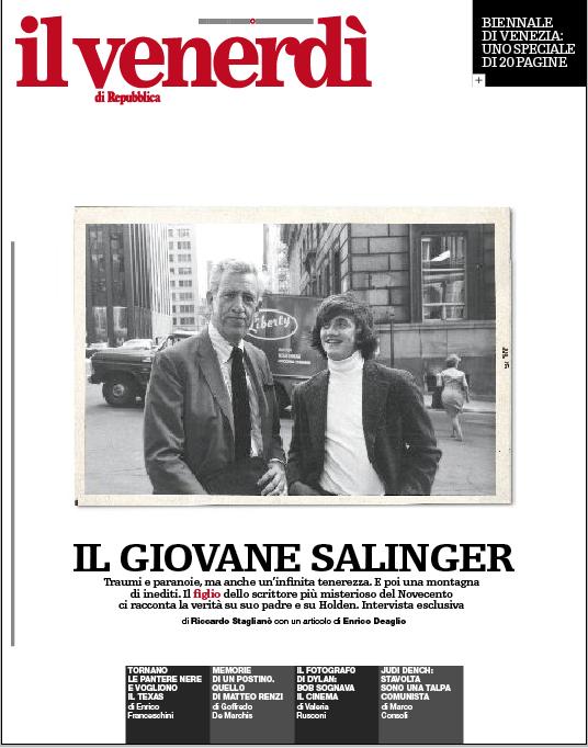 Il giovane Salinger racconta il suo papà