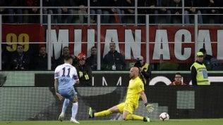 Coppa Italia, Correa regala la finale alla Lazio: 0-1 al Milan.