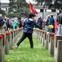 """25 Aprile, Mattarella: """"Fu rivolta morale, no al baratto della libertà con l'ordine""""...."""