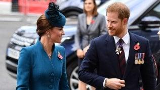 Harry e Kate insieme a una cerimonia ufficiale: prove di disgelo tra cognati