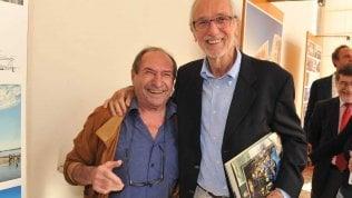 Giulio Frezza con Renzo Piano