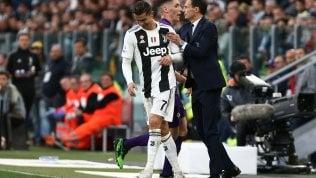 """Allegri avvisa l'Inter: """"Non andiamo in giro a fare figuracce"""""""