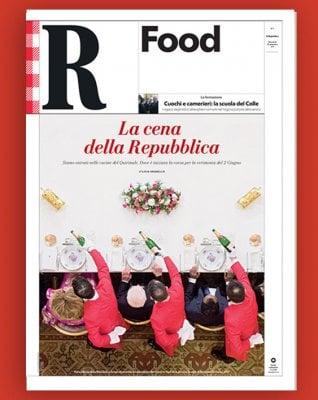 Nelle cucine del Quirinale per la cena della Repubblica