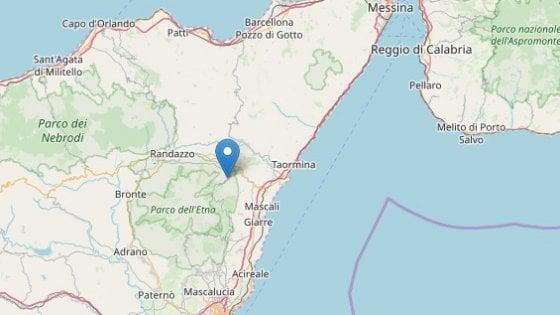 Terremoto sull'Etna, scossa di magnitudo 3.3 a Linguaglossa