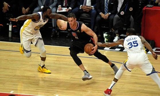 Basket, playoff Nba: fine corsa per Gallinari, Golden State in semifinale