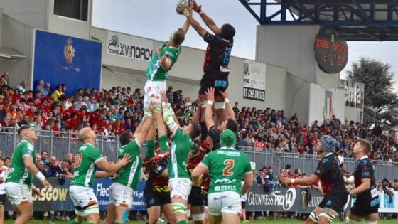 Rugby, storico Treviso: batte le Zebre, è ai quarti di Lega Celtica