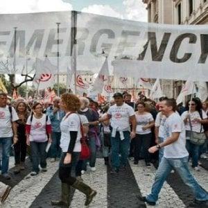 """Emergency """"Pe' Strada"""": in piazza del popolo a Roma a sostegno del centro maternità di Anabah in Afghanistan"""