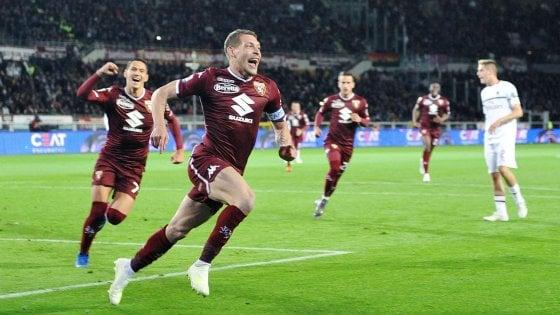 Torino-Milan 2-0, Belotti e Berenguer affondano i rossoneri